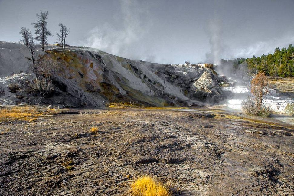 Yellowstone National Park, Mammoth Hot Springs