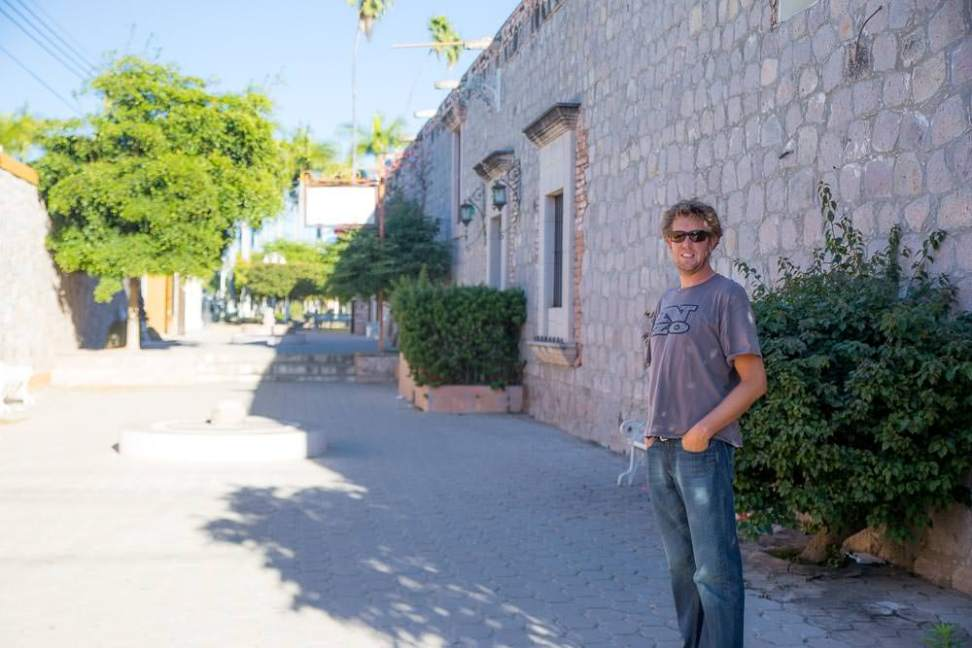 Even Ben was pretty impressed by the town of El Fuerte.