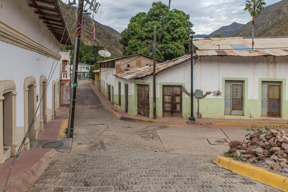 The streets of Batopilas.