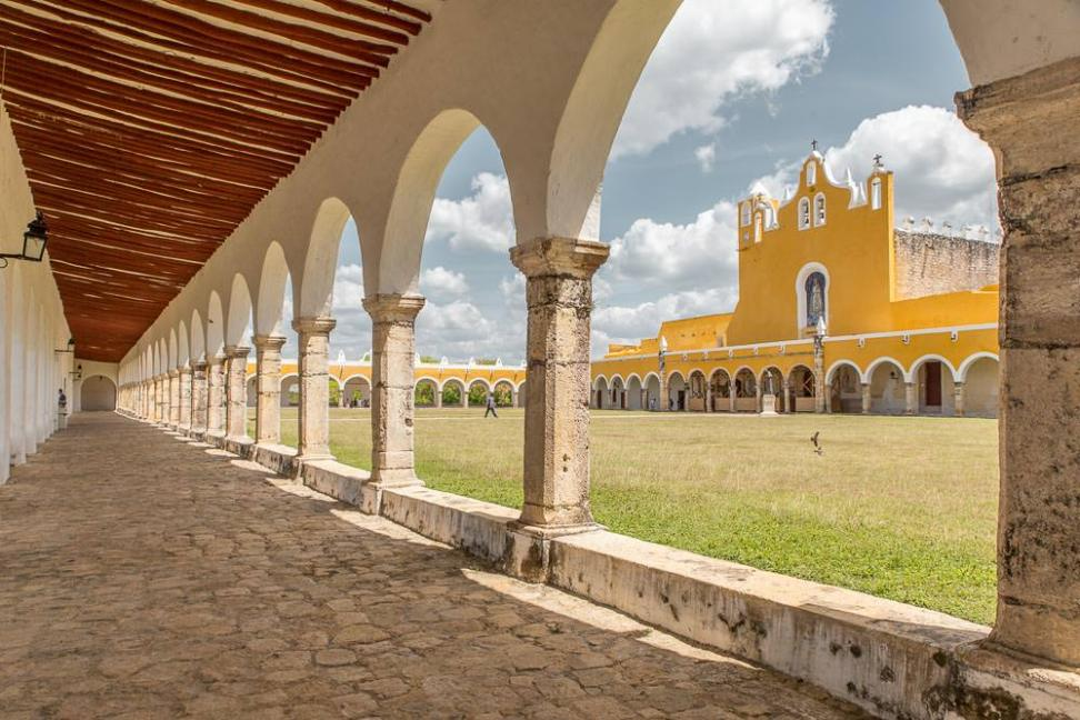 Historic church and convent in Izamal.