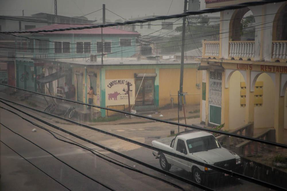 Even more rain.