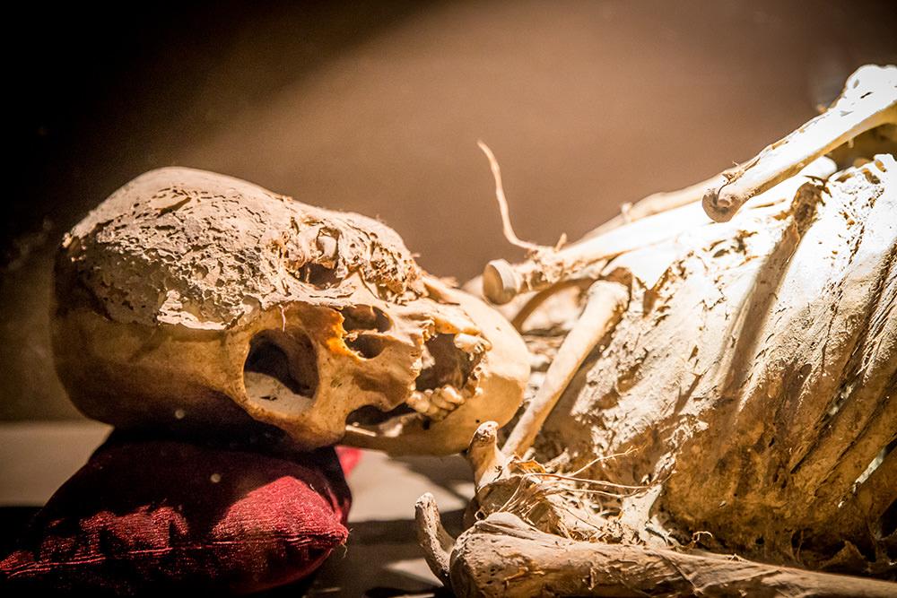 One of the least mummified mummies.