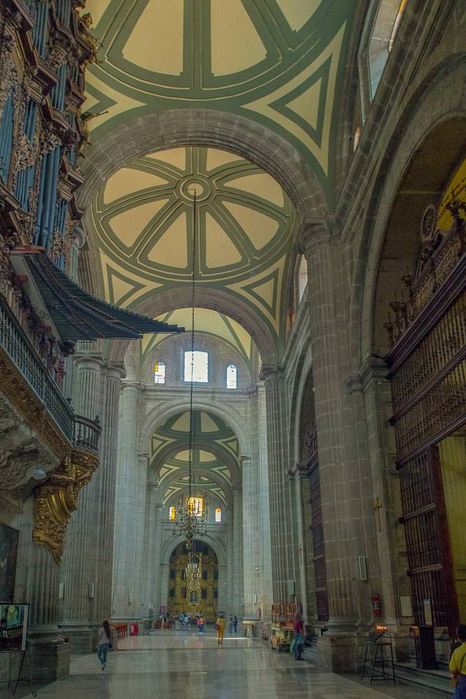 The even grander interior.