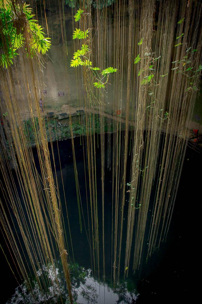 Cenote Ik Kil.