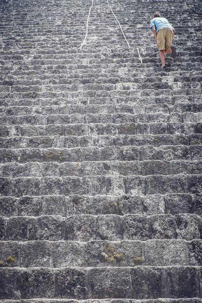 More steps.