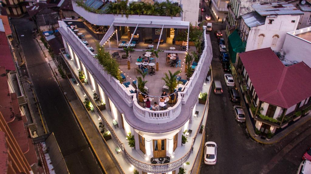 Numen Gastro Lounge is the rooftop bar at La Concordia Boutique Hotel