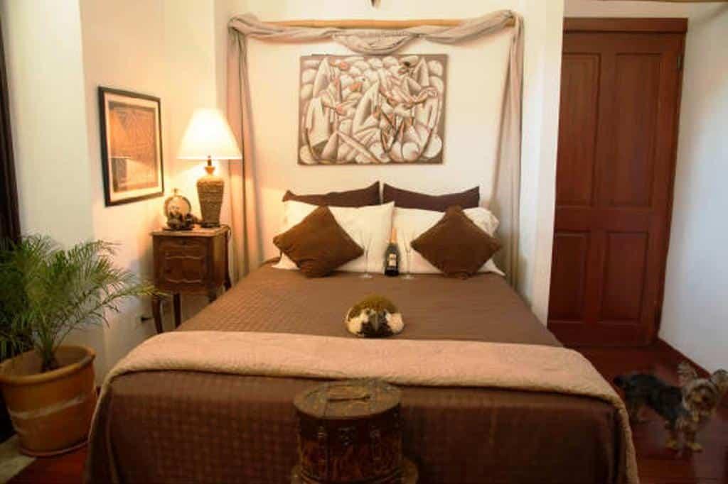 Bedroom in Casa Sucre Boutique Hotel