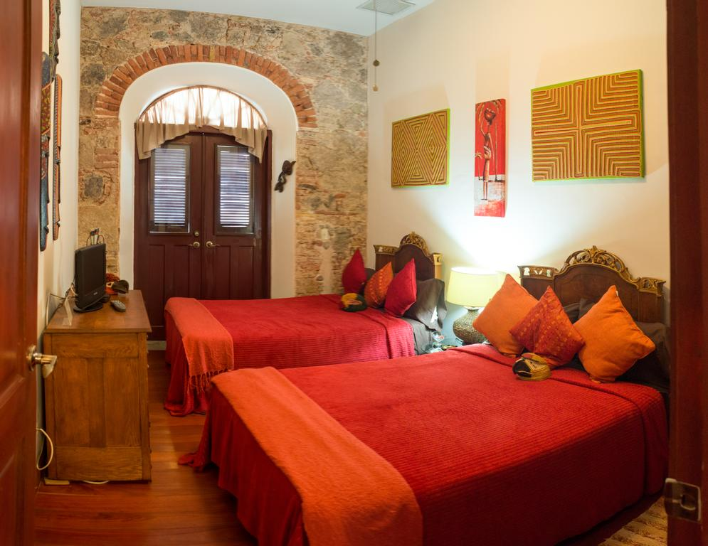 Embera double bedroom in Casa Sucre Boutique Hotel