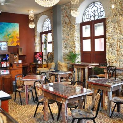 Casa Sucre Boutique Hotel y Coffeehouse en Casco Viejo