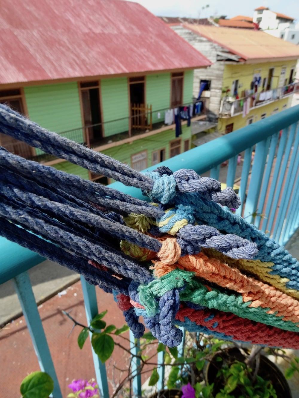 Balcón del apartamento 2A en Flor de Lirio en Casco Viejo