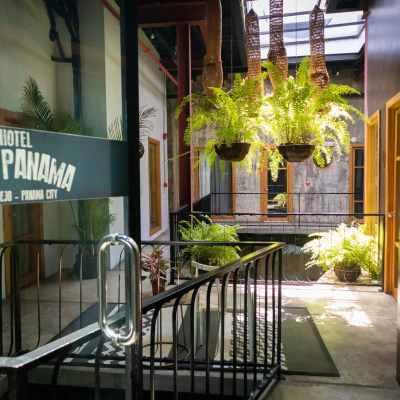 Hotel Casa Panamá solía ser una Mansión en la Era Colonial Española
