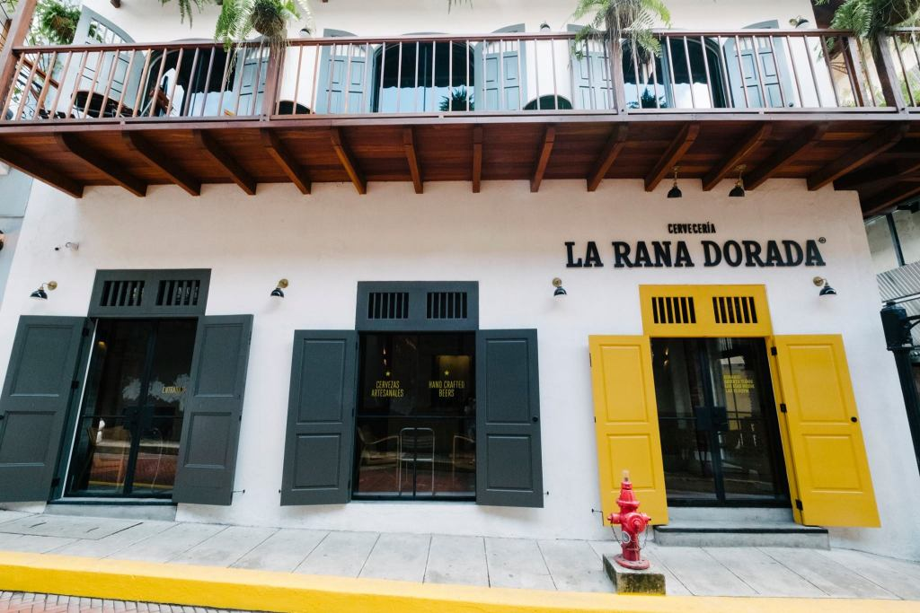 La Rana Dorada Casco Viejo se mudó en diciembre de 2017