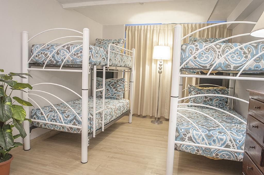 Some dorms at Magnolia Inn only have four beds which can be rented by small groups