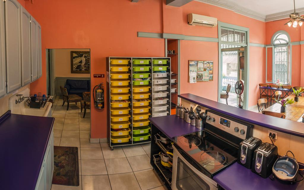 Guests of Magnolia Inn can use the kitchen and store their food