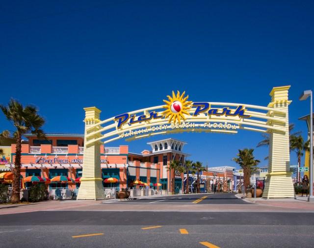 Pier Park Main Sign