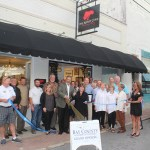 Chamber Ambassadors gather to celebrate the grand opening of the Artist Cove Studio Gallery.
