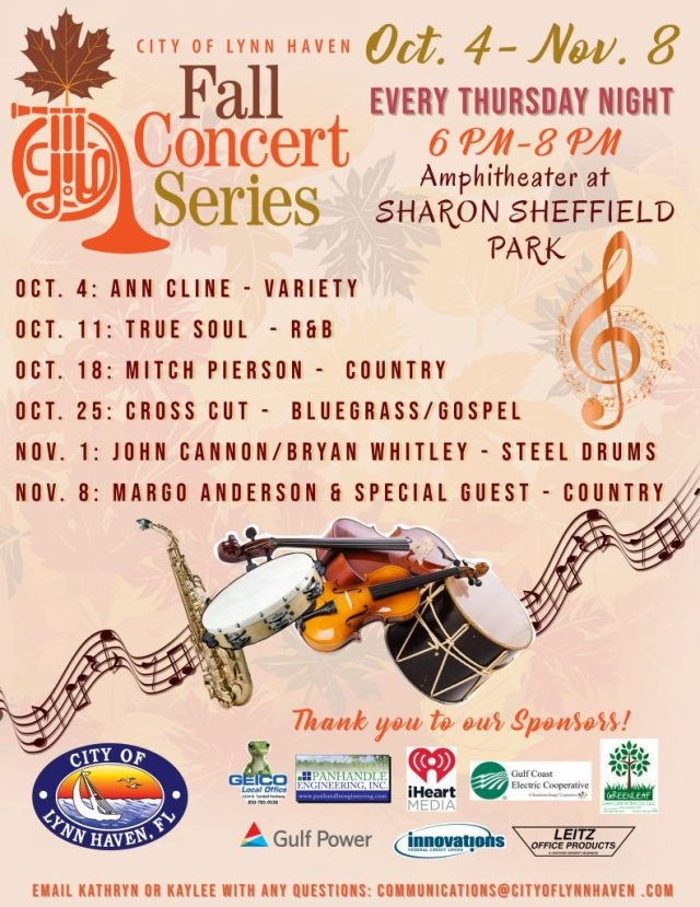 City of Lynn Haven Fall Concert Series