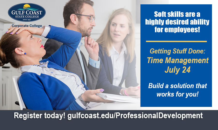 Getting Stuff Done: Time Management - Bay County Chamber of Commerce