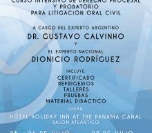 Curso Intensivo de Derecho Precesal y Probatorio para Litigación Oral Civil