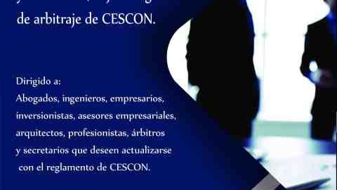 Capacitación para Árbitros y Secretarios, Bajo el Reglamento de Arbitraje de CESCON