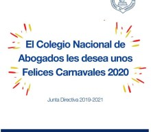 """FELICES CARNAVALES 2020"""