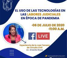 EL USO DE LAS TECNOLOGÍAS EN LAS LABORES JUDICIALES EN ÉPOCA DE PANDEMIA