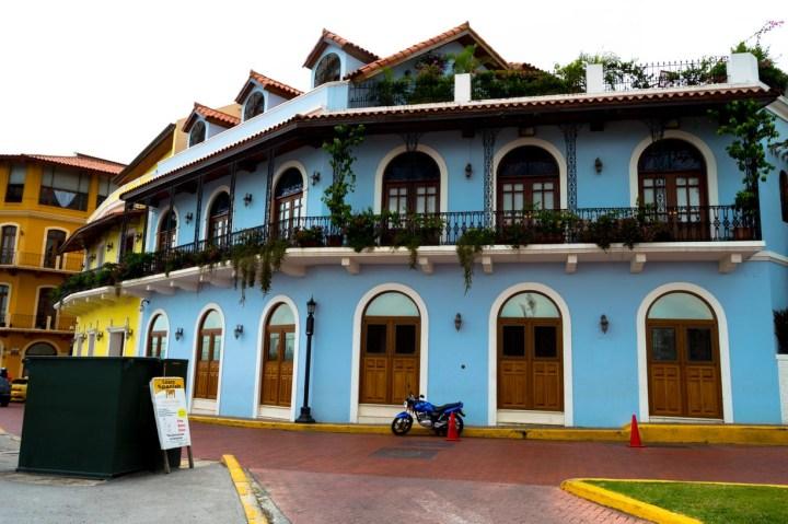 The beginning of Casco Viejo