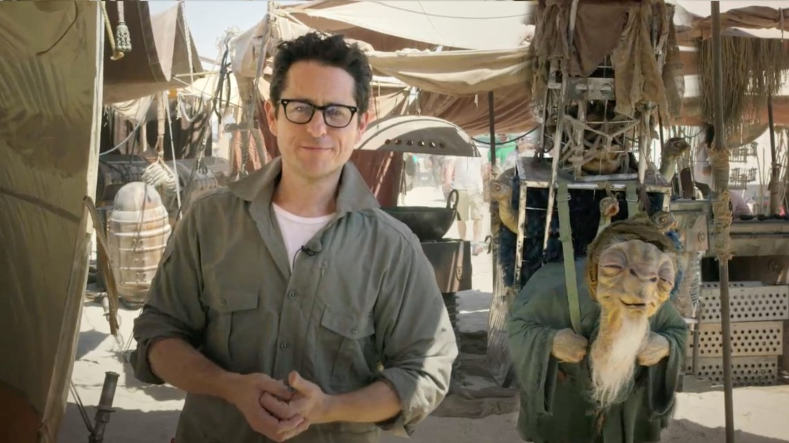 STAR WARS: THE FORCE AWAKENS, y se filtra escenas de la película