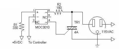 Herramienta de control para Arduino: El TRIAC