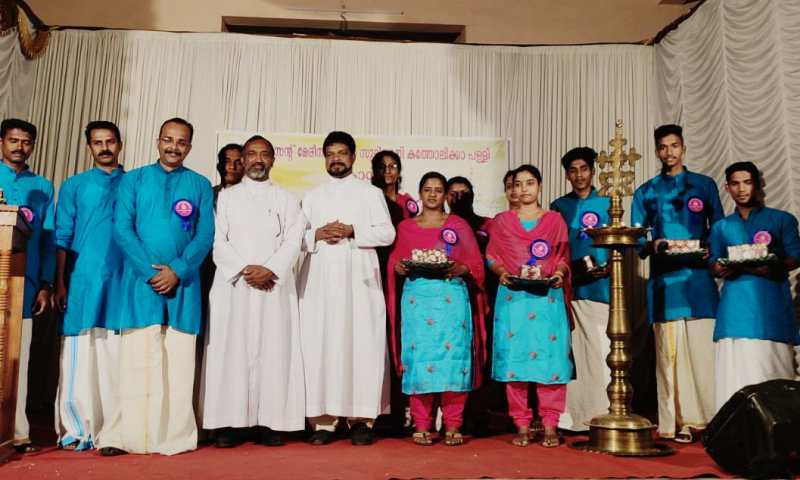 കൊമ്പഴ സെന്റ് മേരീസ്  മലങ്കര കത്തോലിക്കചർച്ച് സണ്ടേ സ്കൂൾ വാർഷികാഘോഷം