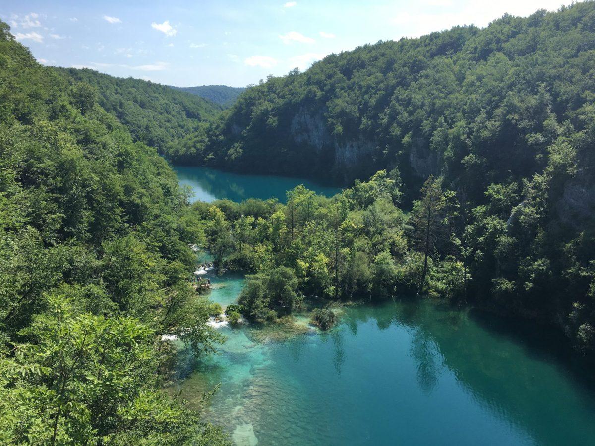 Visitare i laghi di Plitvice in estate