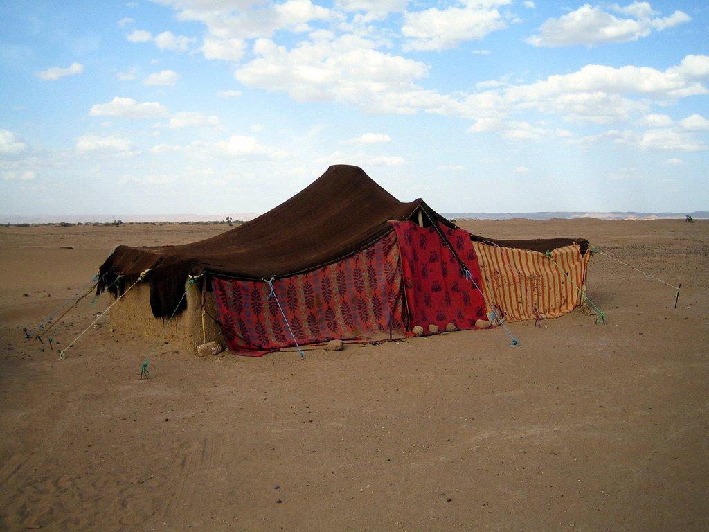 45.desert tent
