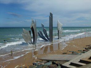 81.Mémorial_omaha_beach,_plage_de_normandie