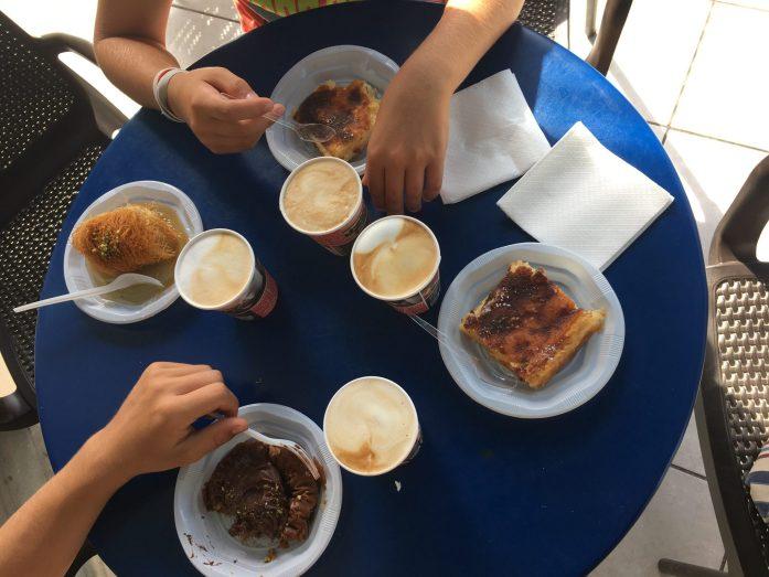 dove mangiare a santorini perissa