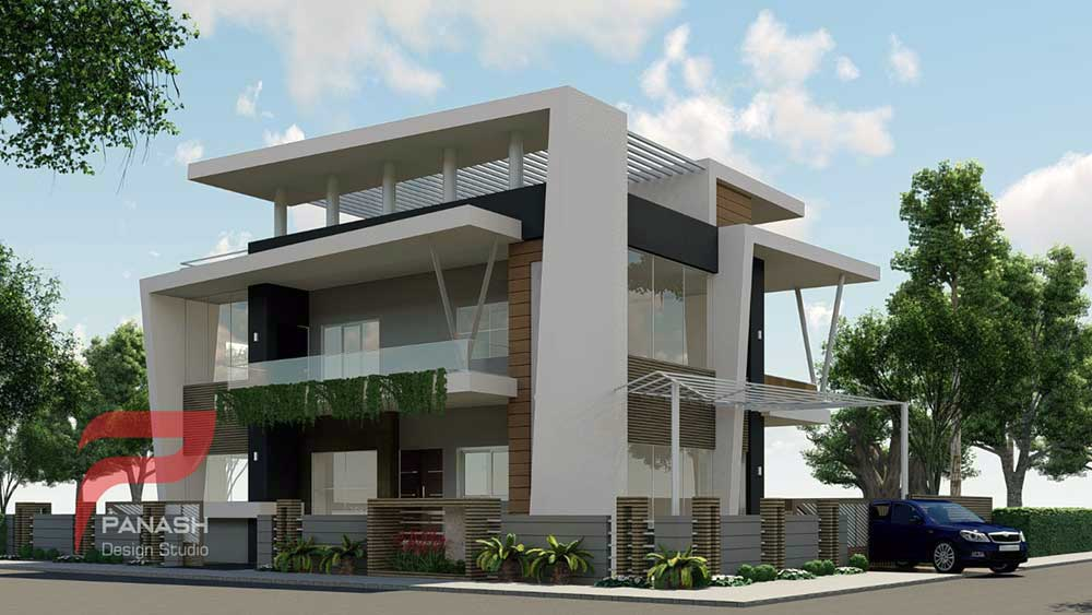 House Elevation Design 22