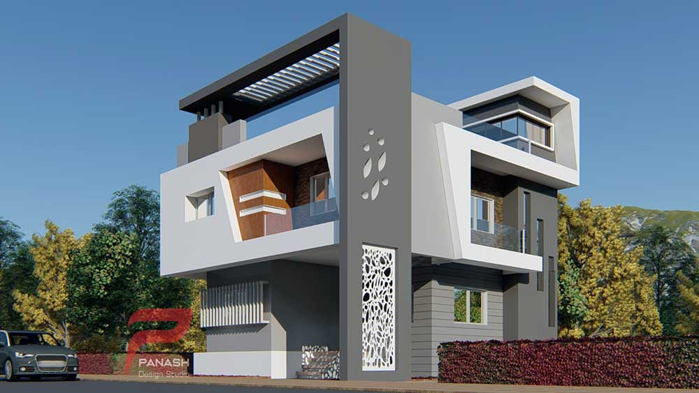 House Elevation Design 3
