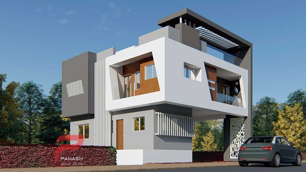 House Elevation Design 4