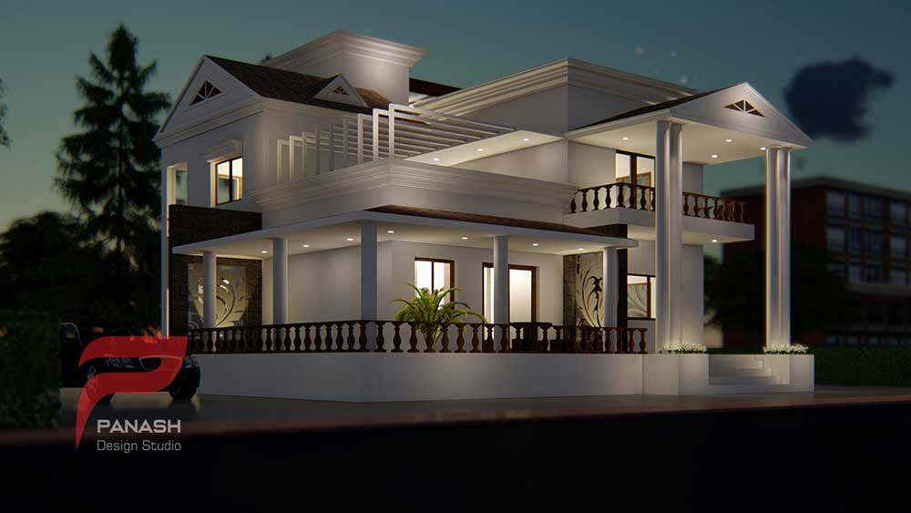 House Elevation Design 8