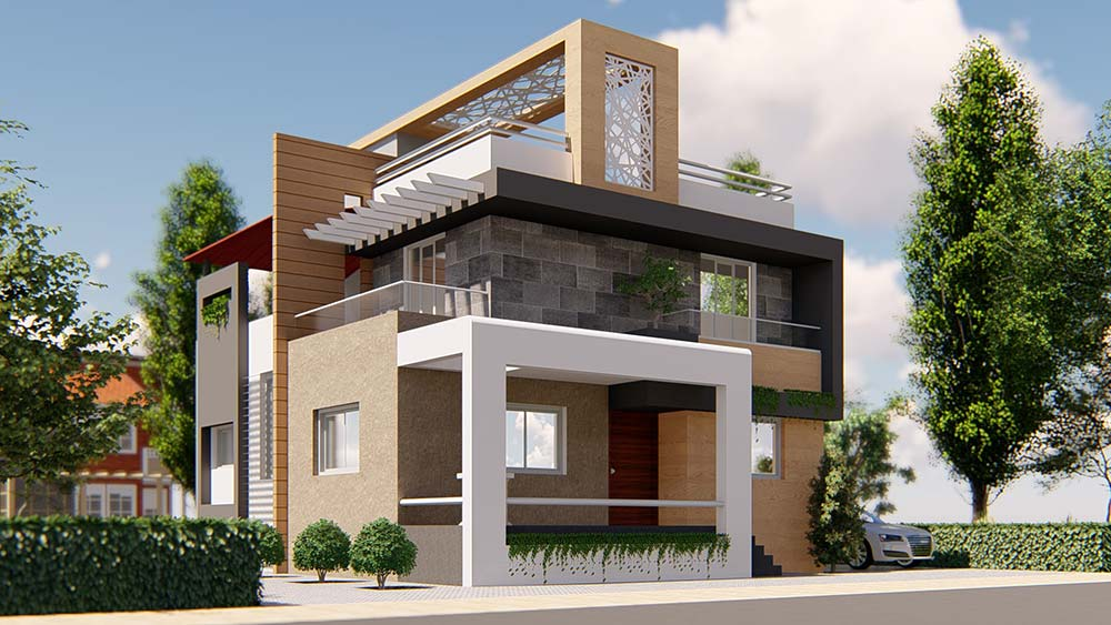 House Elevation Design 83