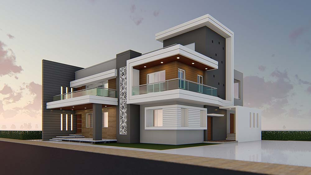 House Elevation Design 84