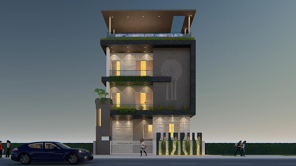 House Elevation Design 86