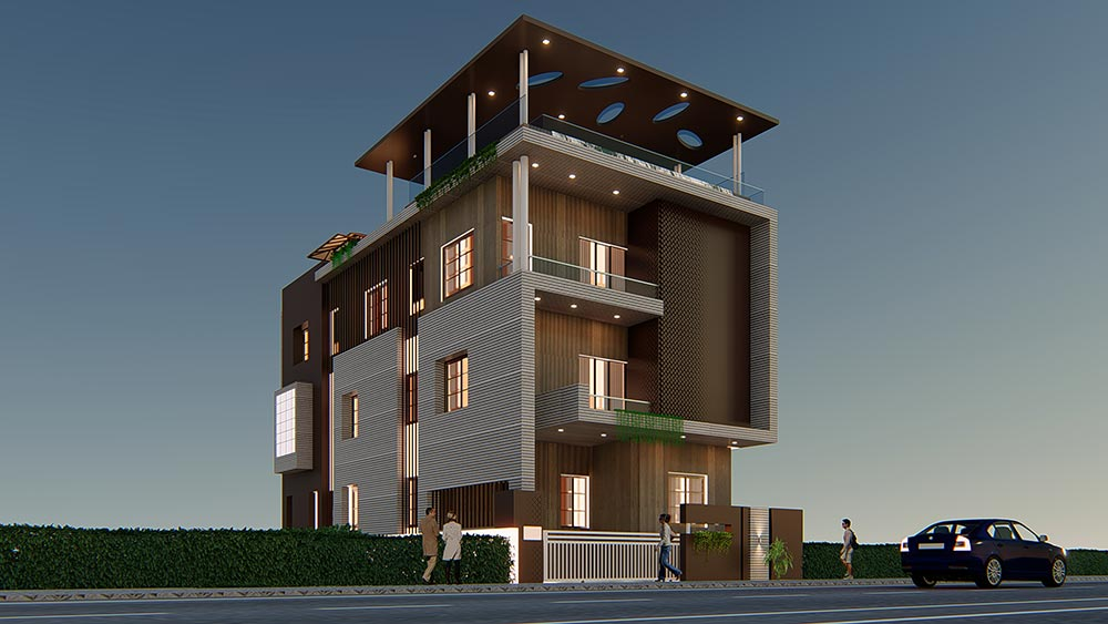 House Elevation Design 88
