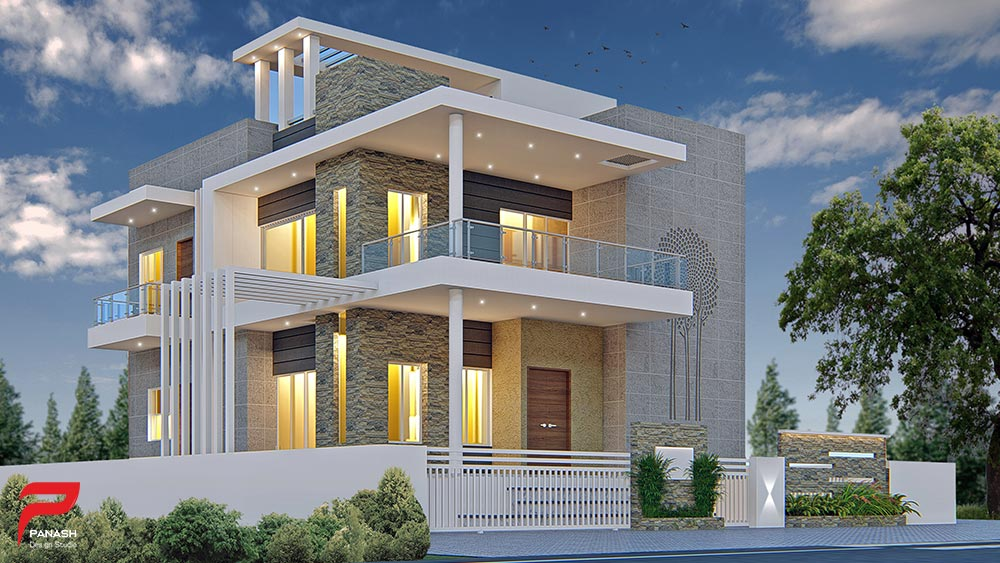 House Elevation Design 93