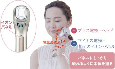 [Panasonicから美顔器イオンエフェクターEH-ST98