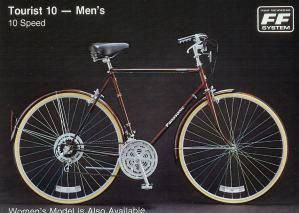 1983 Panasonic Tourist 10 - Men's