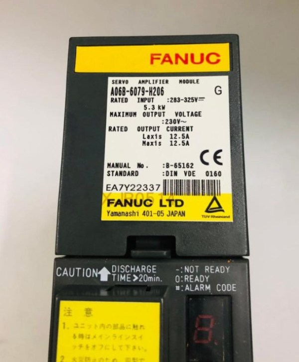 a06b-6079-h206 Servo Amplifier module