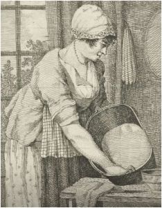 the kitchen maid in european painting: 17th - 18th century