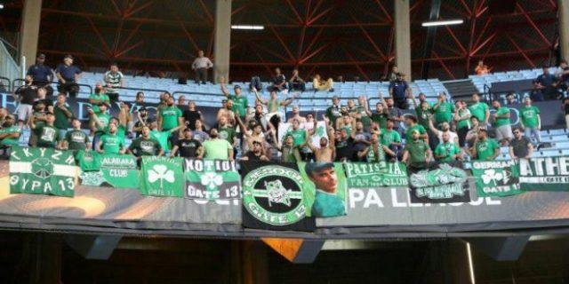 Ετοιμάζεται… η «πράσινη» κερκίδα! (Vid)   panathinaikos24.gr