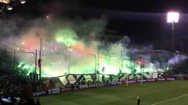 Πανό στη Λεωφόρο από οπαδούς του Παναθηναϊκού (pic) | panathinaikos24.gr