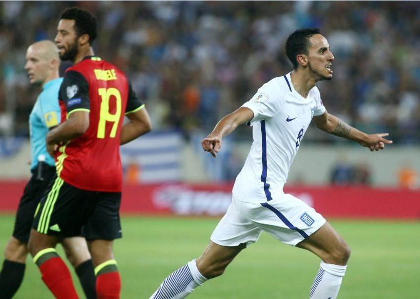 Πρώην «πράσινος» με τη φανέλα της Εθνικής Ελλάδος (Pic) | panathinaikos24.gr